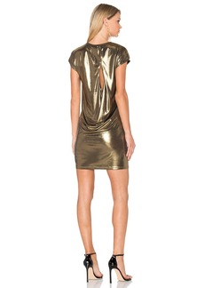 Halston Heritage Foil Jersey Dress
