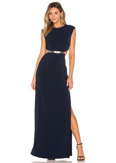 Halston Heritage Gown in Blue. - size 2 (also in 4,6,8)