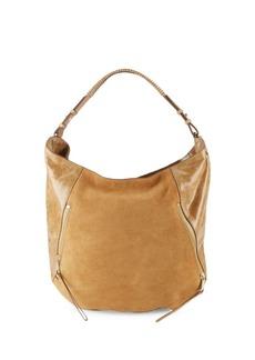 Halston Heritage Halston Leather Hobo Bag