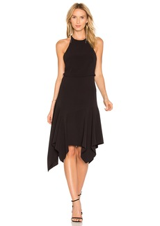 Halston Heritage Halter Midi Dress