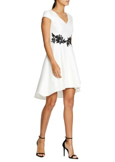 Halston Heritage High/Low Cocktail Dress