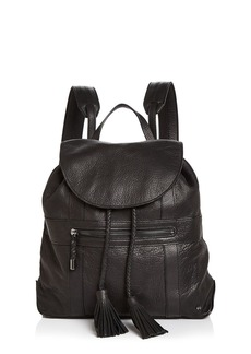 HALSTON HERITAGE Jerry Medium Leather Backpack