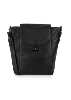 Halston Heritage Large Leather Shoulder Bag