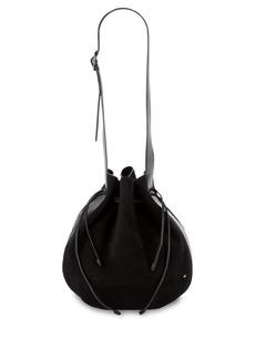 Halston Heritage Leather & Suede Bucket Bag
