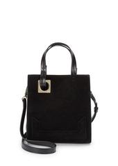 Halston Heritage Leather & Suede Tote Bag