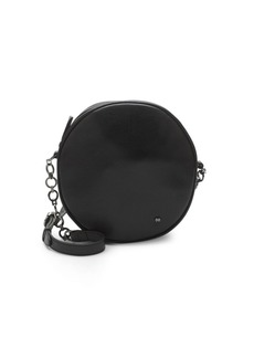 Halston Heritage Leather Circle Shoulder Bag