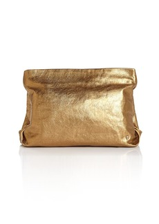 Halston Heritage Leather Clutch