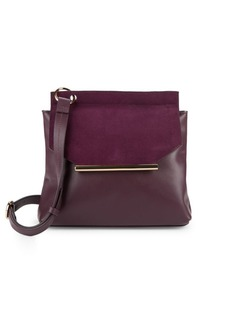 Halston Heritage Leather Crossbody Bag