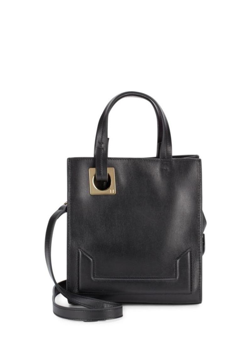 0f6ae08f95 Halston Heritage Halston Heritage Leather Tote Bag