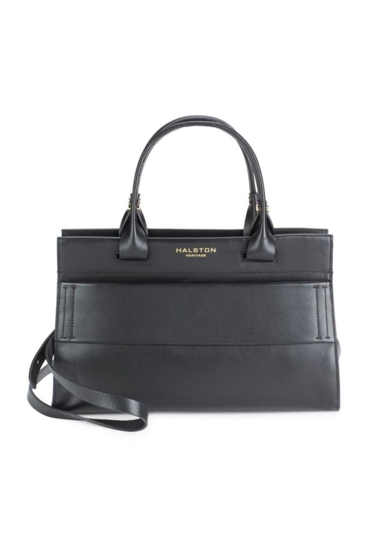Halston Heritage Leather Doctor Bag