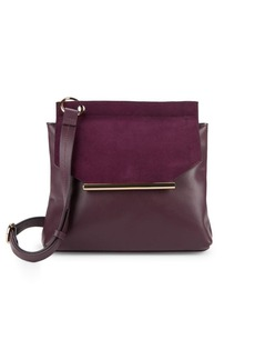 Halston Heritage Leather Crossbody Bag