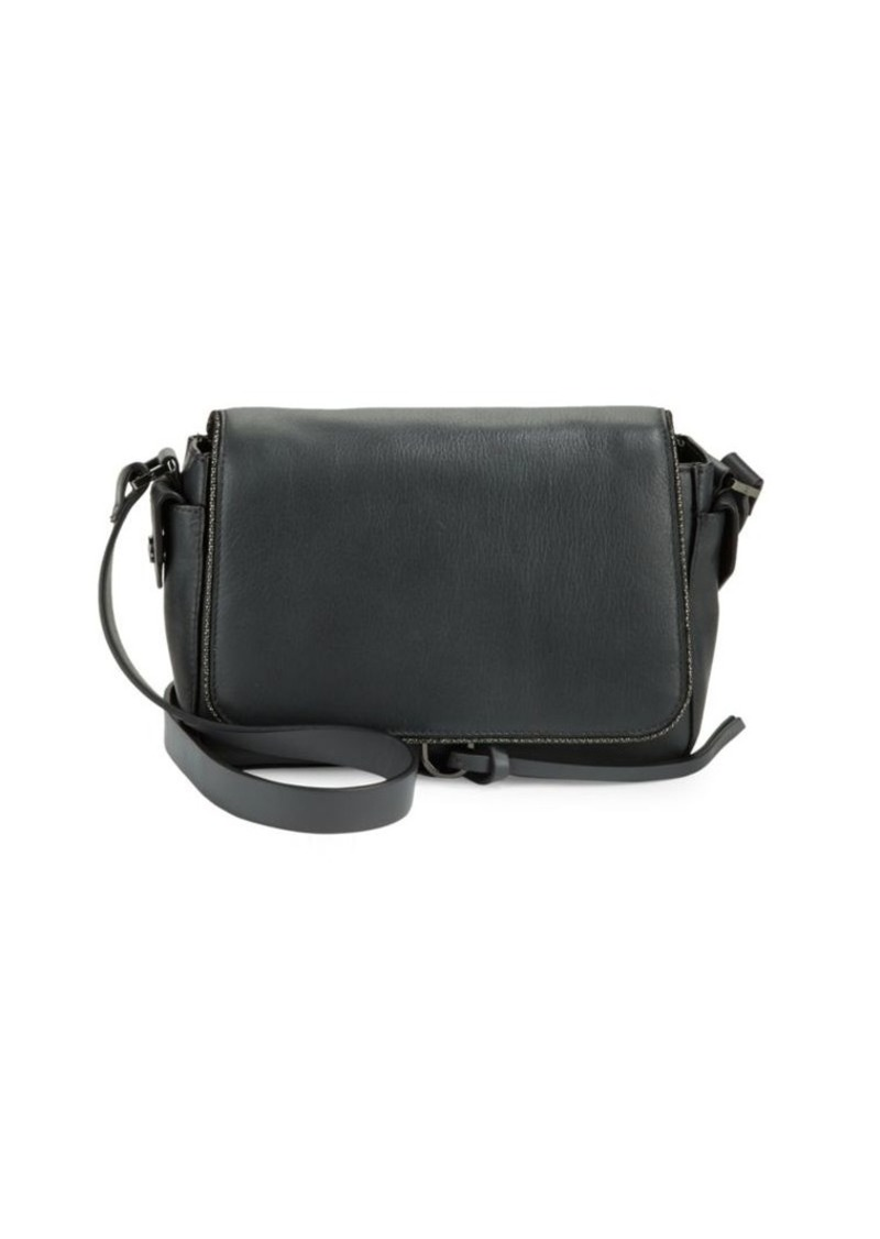 Halston Heritage Halston Heritage Leather Crossbody Shoulder Bag ... 4bb71abb45e23