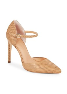 Halston Heritage Leather d'Orsay Pumps