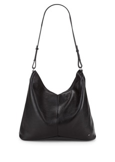 Halston Heritage Leather Hobo Bag