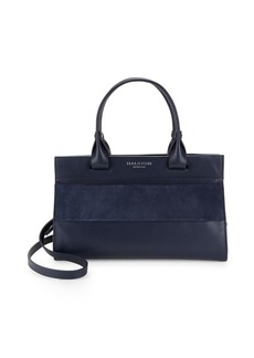Halston Heritage Leather Satchel Bag