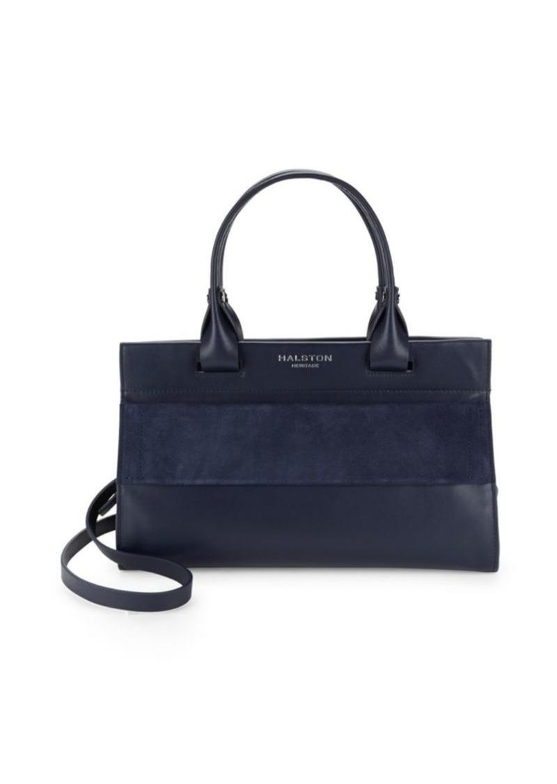 SALE! Halston Heritage Leather Satchel Bag 5c60a76a09956