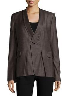 Halston Heritage Long-Sleeve Slim-Fit Blazer
