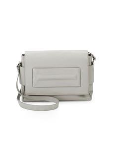 Halston Heritage Medium Leather Shoulder Bag
