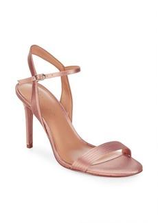 Halston Heritage Metallic Sandals
