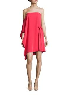 Halston Heritage Off-the-Shoulder Flowy Dress