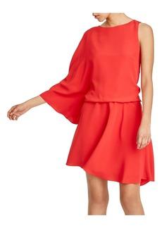 HALSTON HERITAGE One Sleeve Dress
