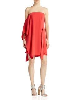 HALSTON HERITAGE One-Sleeve Dress