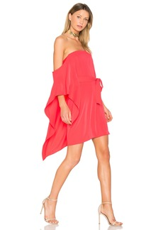 Halston Heritage One Sleeve Mini Dress