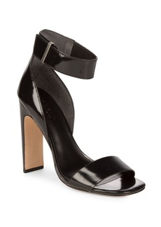Halston Heritage Open Toe Leather Sandals