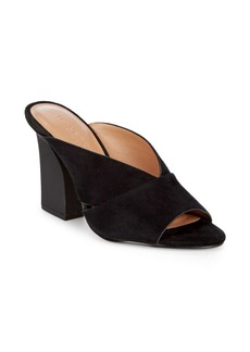 Halston Heritage Open Toe Leather Sandals