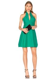 Halston Heritage Organic Notch Neck Dress