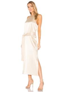 Halston Heritage Racer Slip Dress