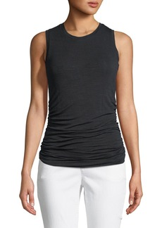 Halston Heritage Ruched-Side Pullover Tank Top
