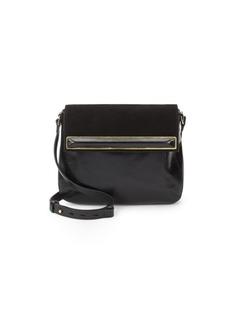 Halston Heritage Saddle Leather Crossbody Bag