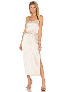 Halston Heritage Satin Cami Slip Dress