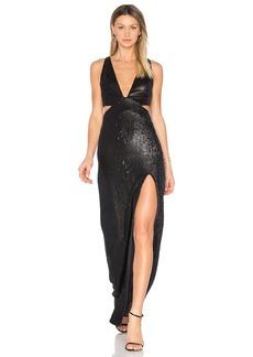 Halston Heritage Sequin Gown