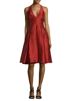 Halston Heritage Sienna Fit-&-Flare Dress