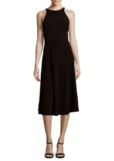 Halston Heritage Sleeveless Knee-Length Dress