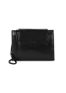 Halston Heritage Slim Leather Crossbody Bag