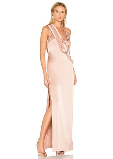 Halston Heritage Slip Gown in Rose. - size 0 (also in 2,4,6,8)