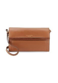 Halston Heritage Solid Leather Shoulder Bag