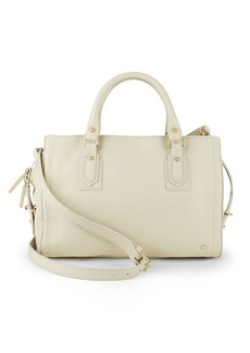 Halston Heritage Speedy Leather Satchel