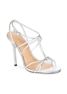 Halston Heritage Strappy Leather Pumps