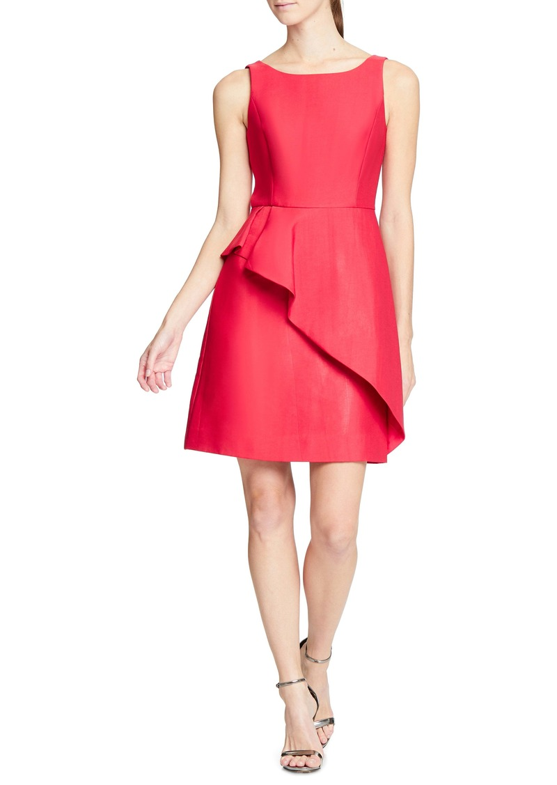 Halston Heritage Structured Cocktail Dress