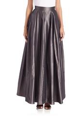 Halston Heritage Taffeta Maxi Skirt