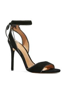 HALSTON HERITAGE Teresa High Heel Ankle Tie Sandals