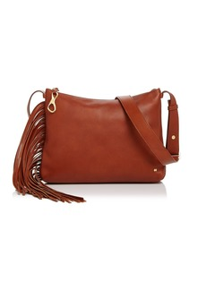 HALSTON HERITAGE Tina Fringe Leather Crossbody