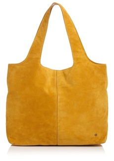 HALSTON HERITAGE Tina Soft Large Suede Tote