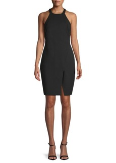 Halston Heritage Vented Sheath Dress