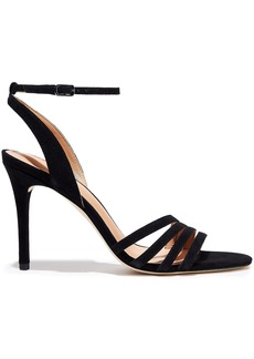 Halston Heritage Woman Kelly Suede Sandals Black