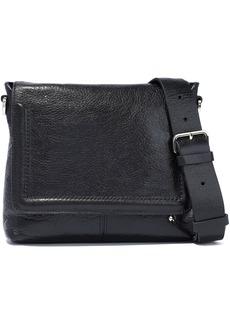 Halston Heritage Woman Dylan Small Pebbled-leather Shoulder Bag Black